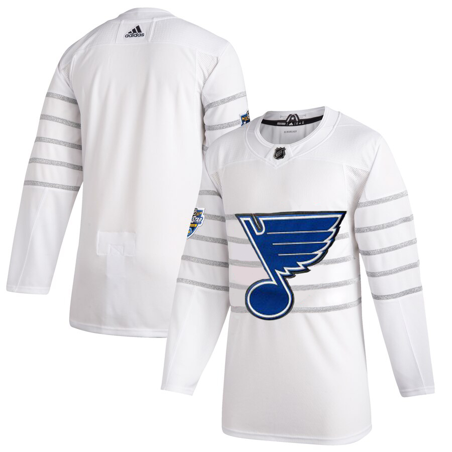 Wholesale Men St. Louis Blues Adidas White 2020 NHL All Star Game Authentic Jersey