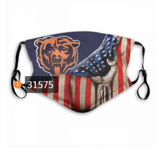 Cheap NFL 2020 Chicago Bears 11 Dust mask with filter
