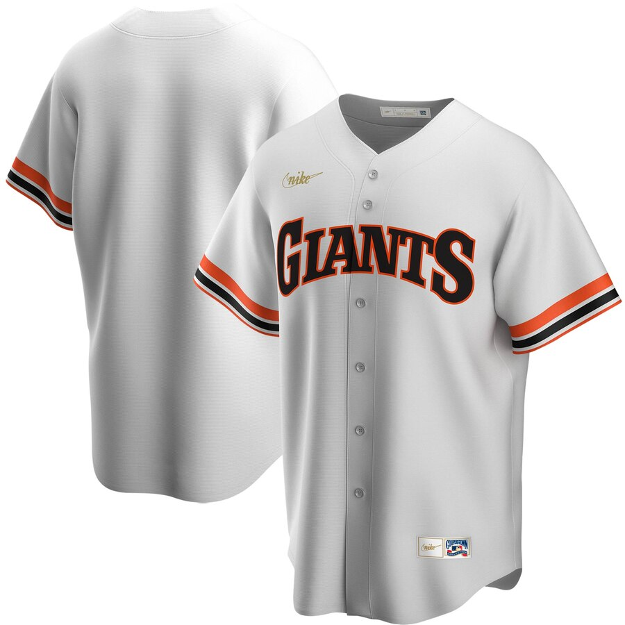 Cheap San Francisco Giants Nike Home Cooperstown Collection Team MLB Jersey White