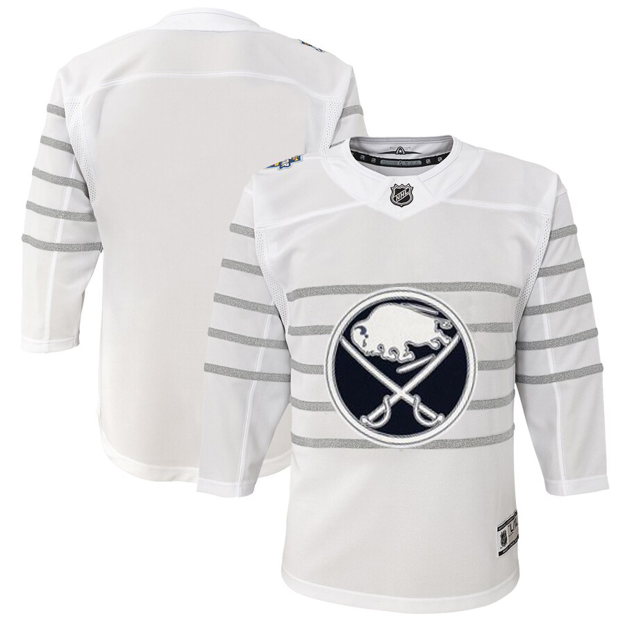 Cheap Youth Buffalo Sabres White 2020 NHL All-Star Game Premier Jersey