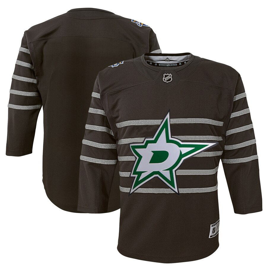 Wholesale Youth Dallas Stars Gray 2020 NHL All-Star Game Premier Jersey