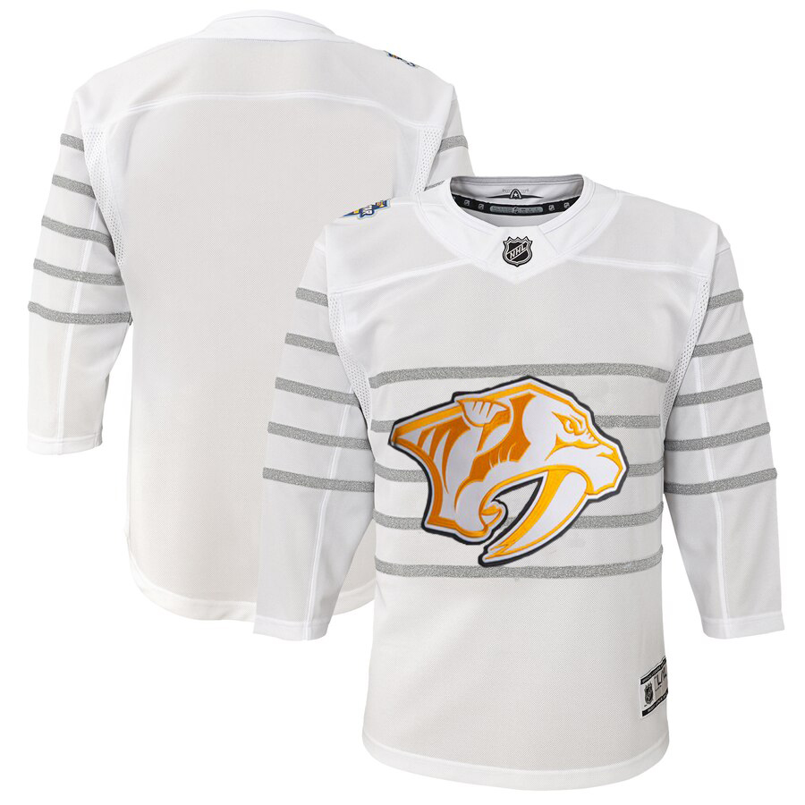 Cheap Youth Nashville Predators White 2020 NHL All-Star Game Premier Jersey