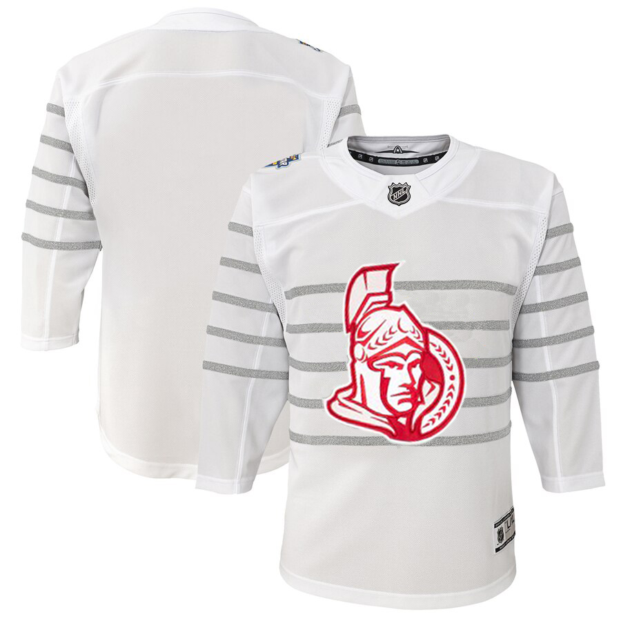 Wholesale Youth Ottawa Senators White 2020 NHL All-Star Game Premier Jersey