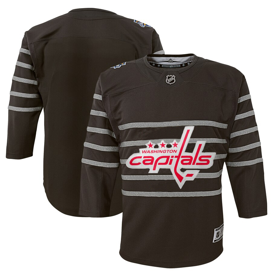 Wholesale Youth Washington Capitals Gray 2020 NHL All-Star Game Premier Jersey