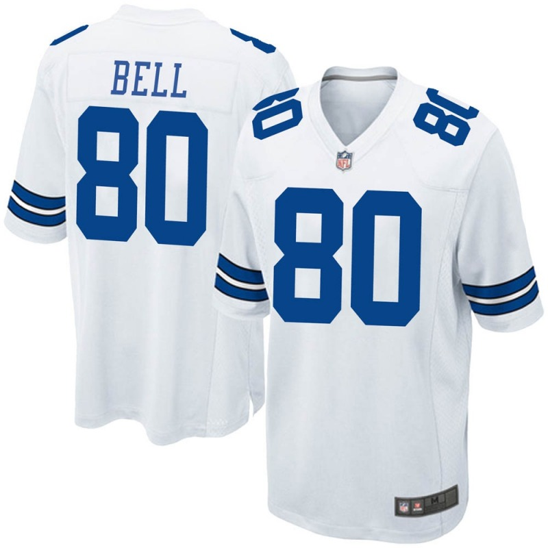 Wholesale 2020 Nike NFL Youth Dallas Cowboys 80 Blake Bell White Game Jersey
