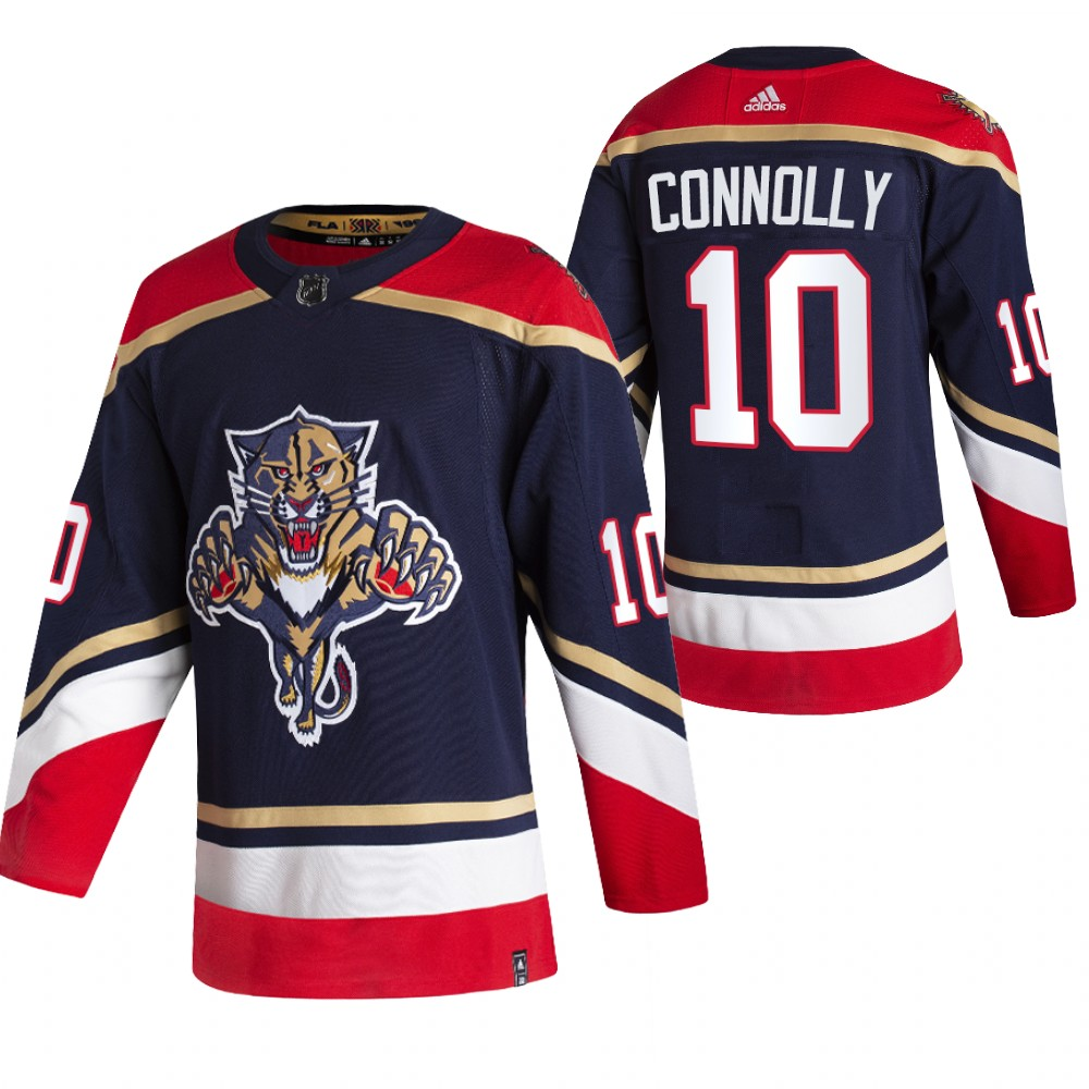 Cheap 2021 Adidias Florida Panthers 10 Brett Connolly Black Men Reverse Retro Alternate NHL Jersey
