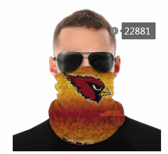 Cheap 2021 NFL Arizona Cardinals 47 Dust mask with filter