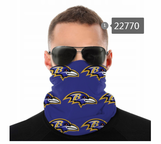 Wholesale 2021 NFL Baltimore Ravens 155 Dust mask with filter