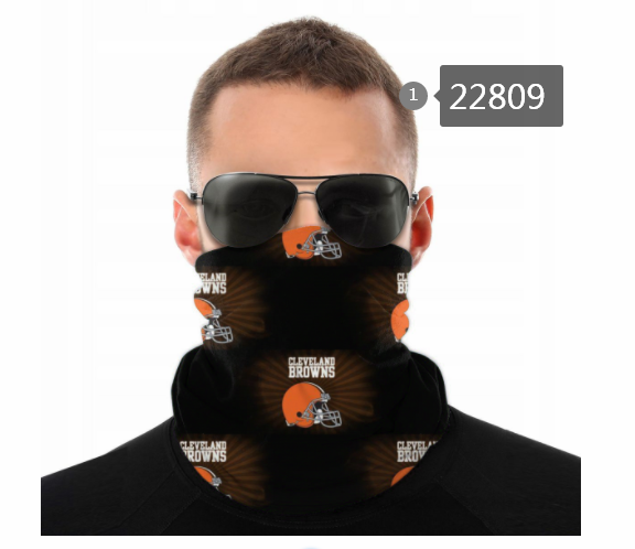 Wholesale 2021 NFL Cleveland Browns 116 Dust mask with filter
