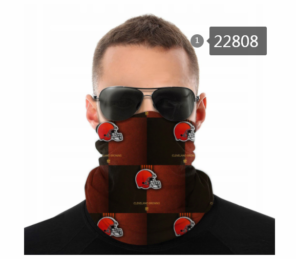 Wholesale 2021 NFL Cleveland Browns 117 Dust mask with filter