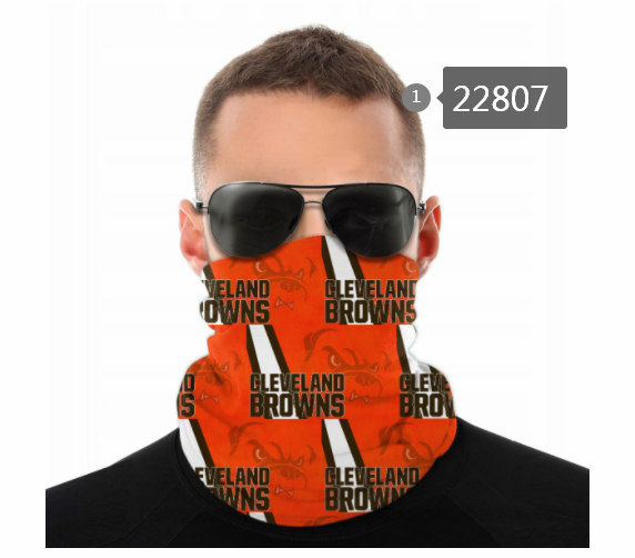 Wholesale 2021 NFL Cleveland Browns 118 Dust mask with filter
