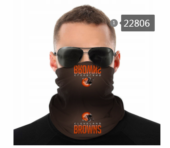 Wholesale 2021 NFL Cleveland Browns 119 Dust mask with filter