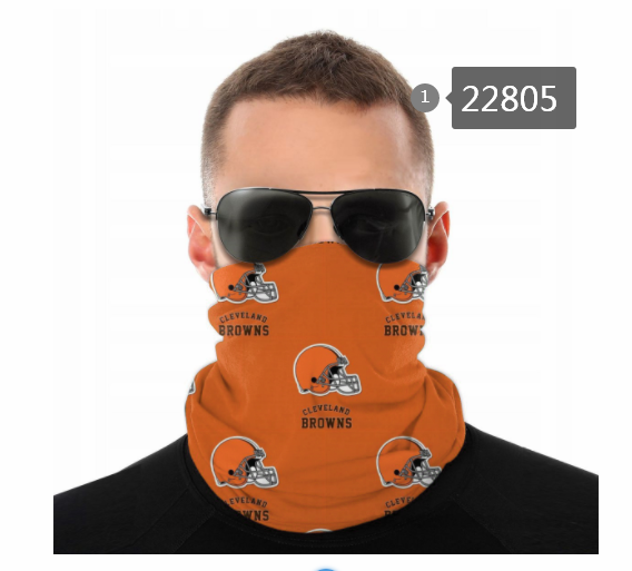 Cheap 2021 NFL Cleveland Browns 120 Dust mask with filter