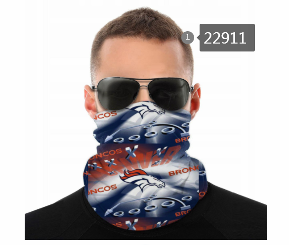 Wholesale 2021 NFL Denver Broncos 17 Dust mask with filter