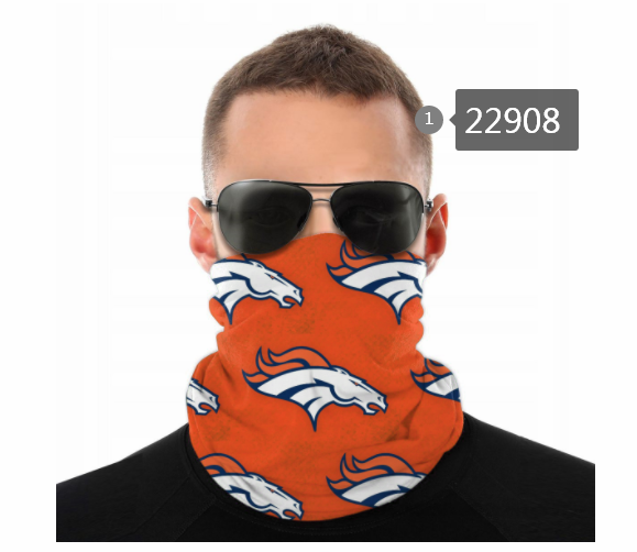 Wholesale 2021 NFL Denver Broncos 20 Dust mask with filter