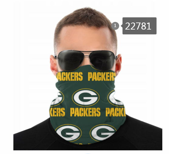 Cheap 2021 NFL Green Bay Packers 144 Dust mask with filter
