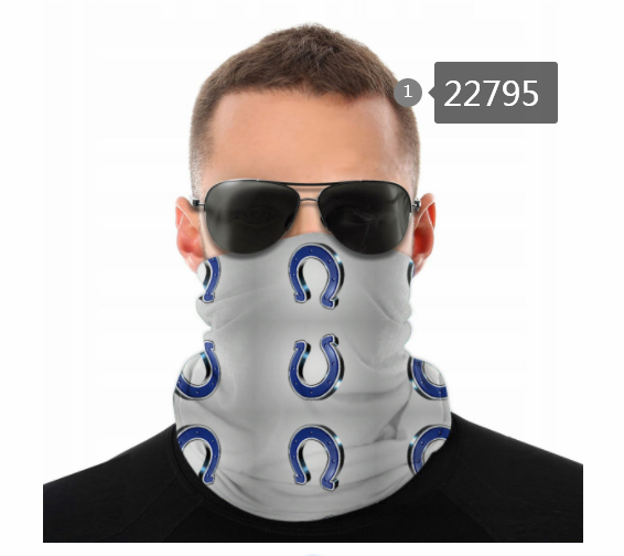 Cheap 2021 NFL Indianapolis Colts 130 Dust mask with filter