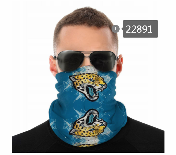 Cheap 2021 NFL Jacksonville Jaguars 37 Dust mask with filter