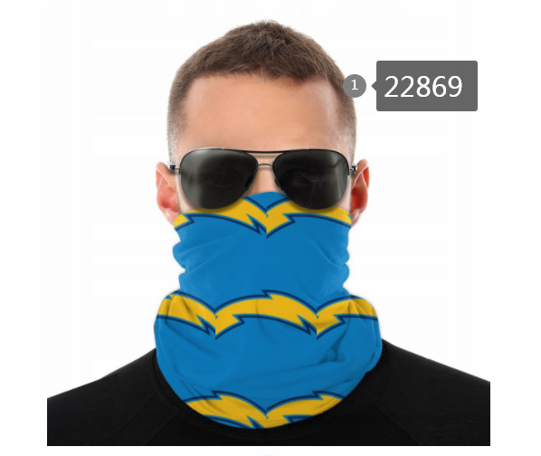 Wholesale 2021 NFL Los Angeles Chargers 59 Dust mask with filter