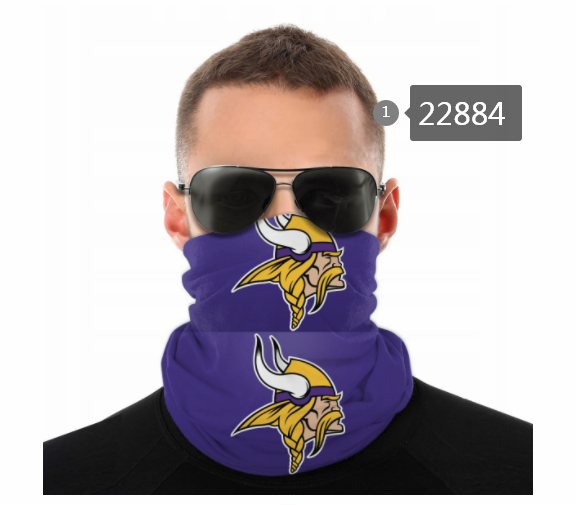 Cheap 2021 NFL Minnesota Vikings 44 Dust mask with filter