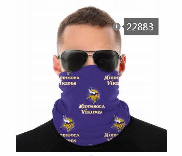 Cheap 2021 NFL Minnesota Vikings 45 Dust mask with filter