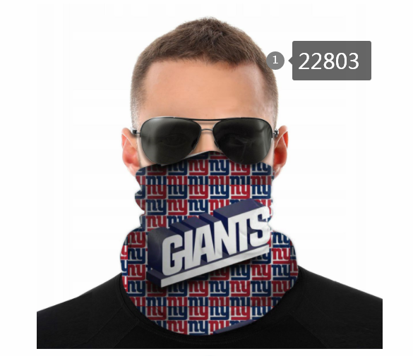 Cheap 2021 NFL New York Giants 1222 Dust mask with filter
