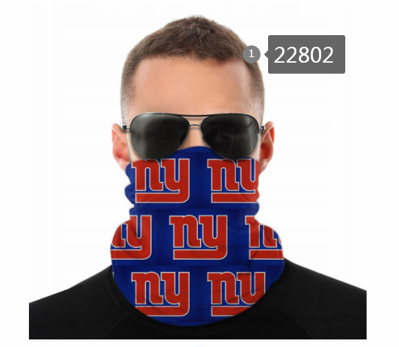Cheap 2021 NFL New York Giants 123 Dust mask with filter