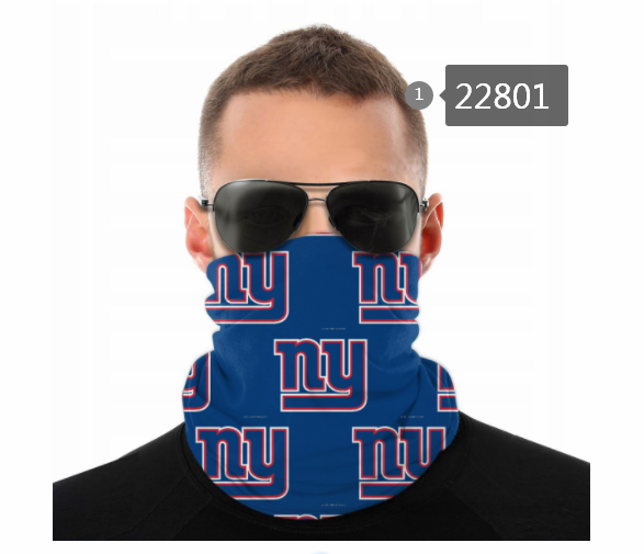 Cheap 2021 NFL New York Giants 124 Dust mask with filter