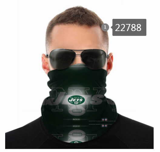 Wholesale 2021 NFL New York Jets 137 Dust mask with filter