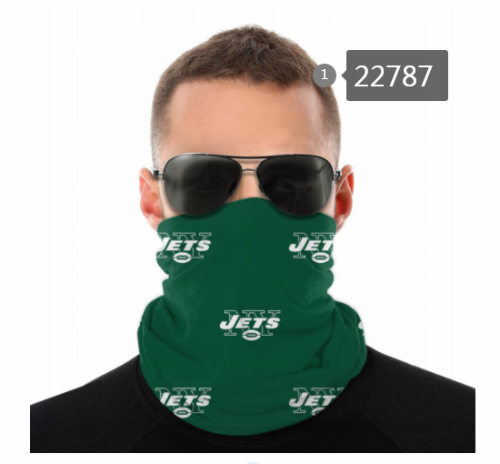 Wholesale 2021 NFL New York Jets 138 Dust mask with filter