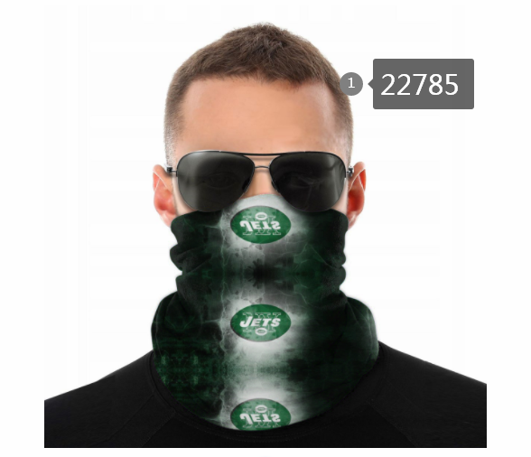 Wholesale 2021 NFL New York Jets 140 Dust mask with filter
