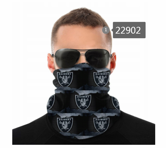 Wholesale 2021 NFL Oakland Raiders 26 Dust mask with filter