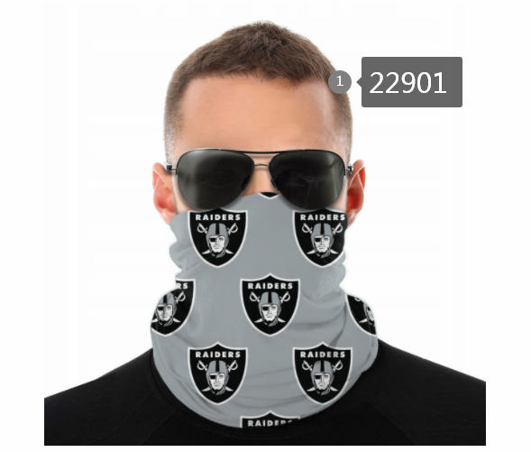 Wholesale 2021 NFL Oakland Raiders 27 Dust mask with filter