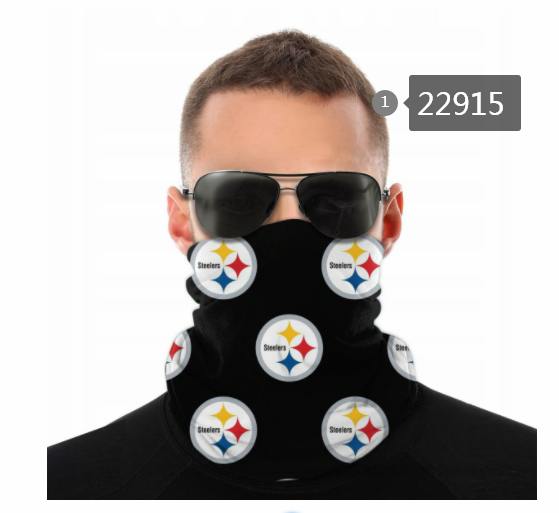 Wholesale 2021 NFL Pittsburgh Steelers 13 Dust mask with filter