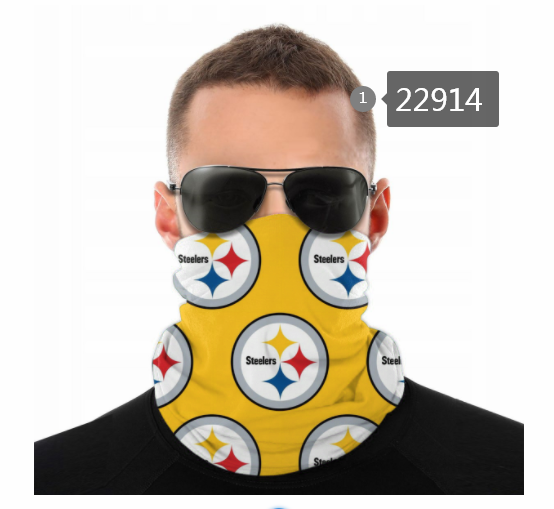 Wholesale 2021 NFL Pittsburgh Steelers 14 Dust mask with filter