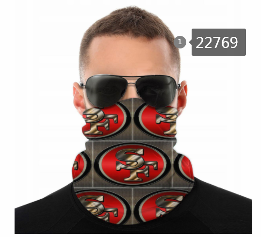 Wholesale 2021 NFL San Francisco 49ers 156 Dust mask with filter