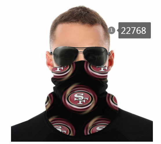 Wholesale 2021 NFL San Francisco 49ers 157 Dust mask with filter