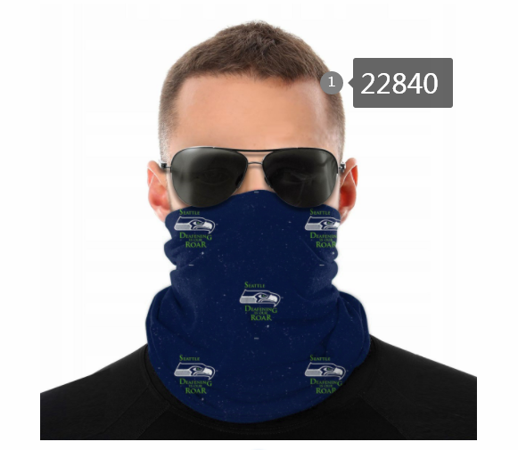 Wholesale 2021 NFL Seattle Seahawks 86 Dust mask with filter