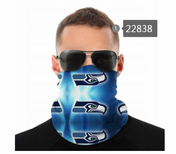 Wholesale 2021 NFL Seattle Seahawks 88 Dust mask with filter