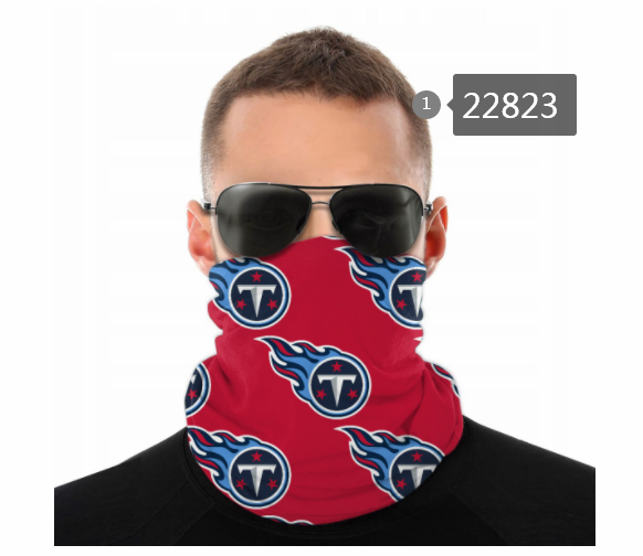 2021 NFL Tennessee Titans 102 Dust mask with filter