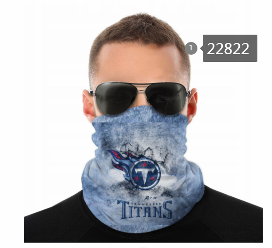 2021 NFL Tennessee Titans 103 Dust mask with filter
