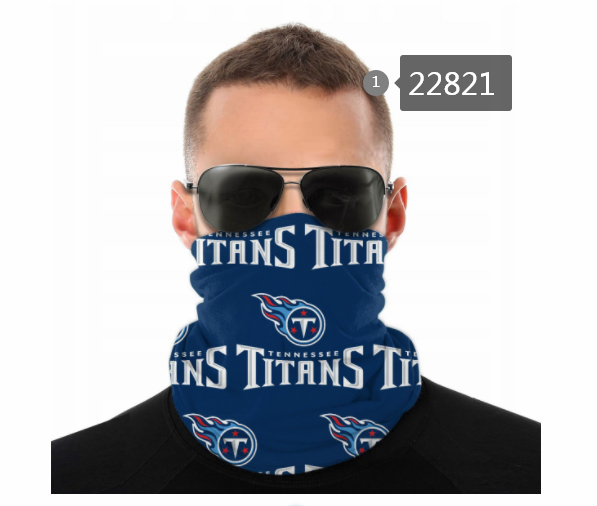 2021 NFL Tennessee Titans 104 Dust mask with filter