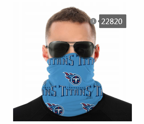 2021 NFL Tennessee Titans 105 Dust mask with filter