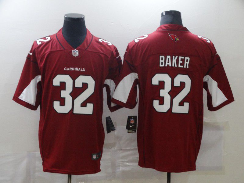 Cheap Men Arizona Cardinals 32 Baker Red Nike Limited Vapor Untouchable NFL Jerseys