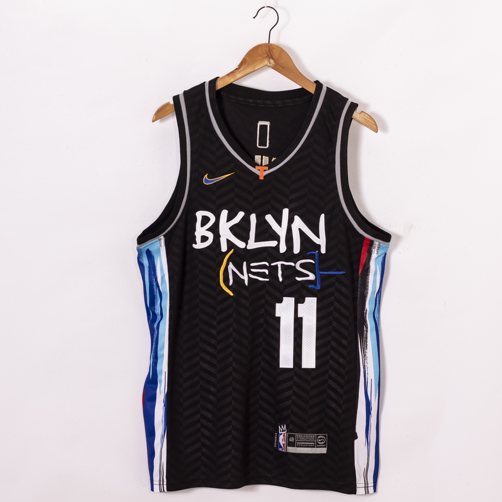 Cheap Men Brooklyn Nets 11 Irving black Home Stitched NBA Jersey