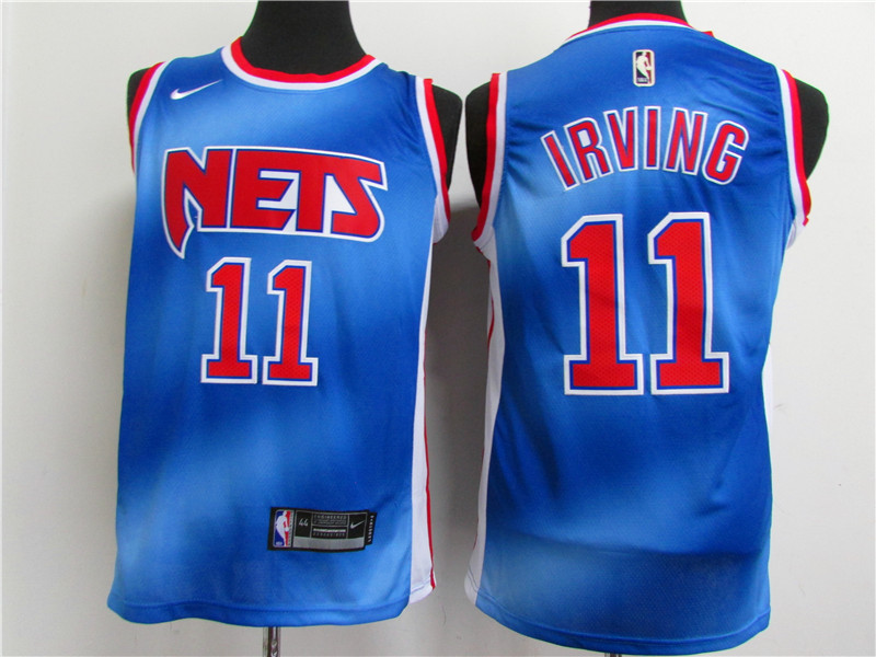 Cheap Men Brooklyn Nets 11 Irving blue Home Stitched NBA Jersey