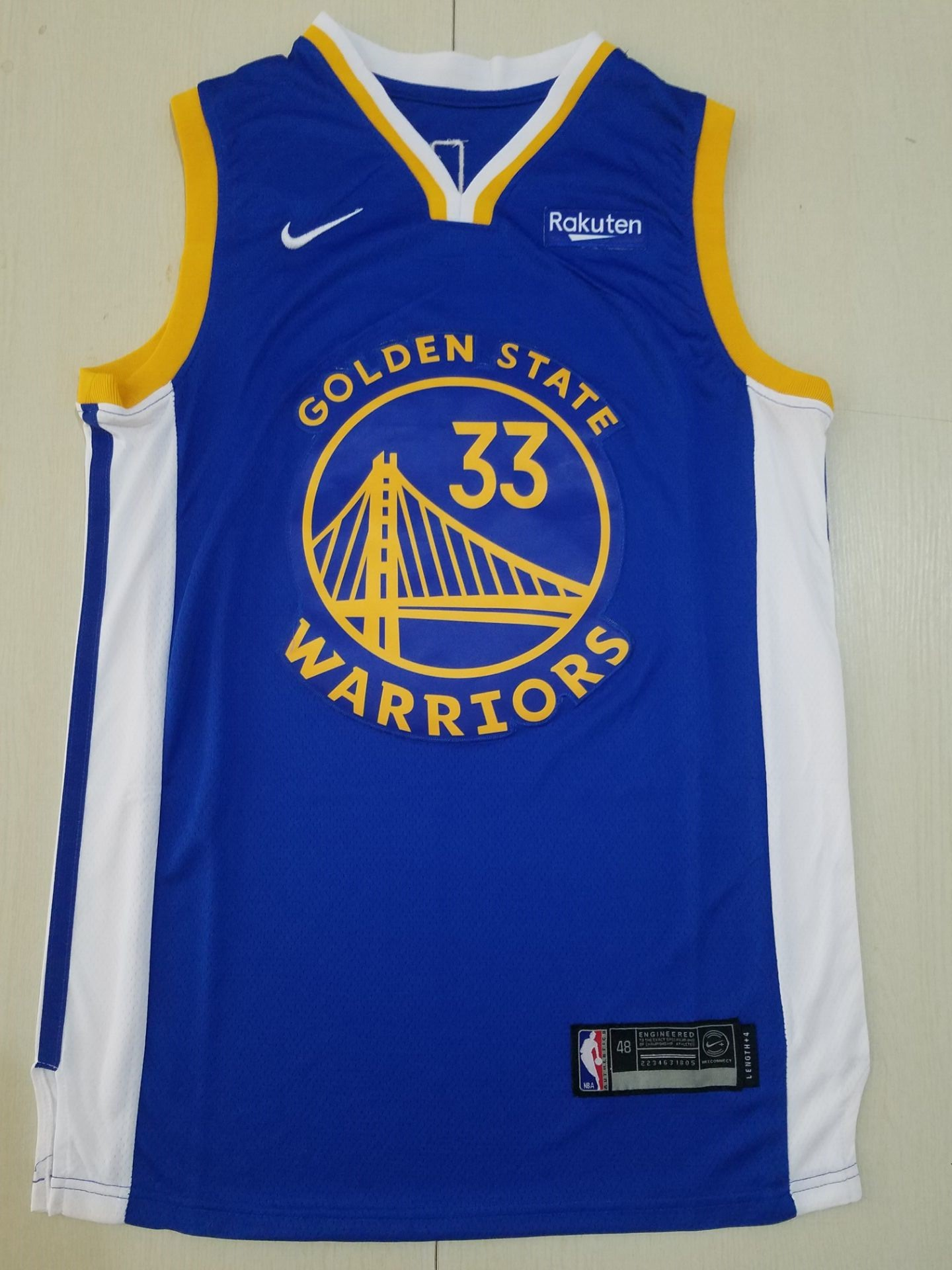 Wholesale Men Golden State Warriors 33 Wiseman limited blue new Nike NBA Jerseys