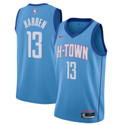 Cheap Men Houston Rockets 13 Harden blue Nike NBA Jerseys