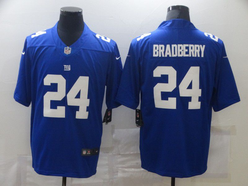 Cheap Men New York Giants 24 Bradberry Blue Nike Limited Vapor Untouchable NFL Jerseys