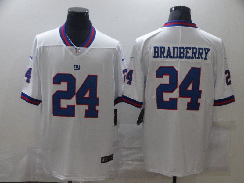 Cheap Men New York Giants 24 Bradberry White Nike Limited Vapor Untouchable NFL Jerseys
